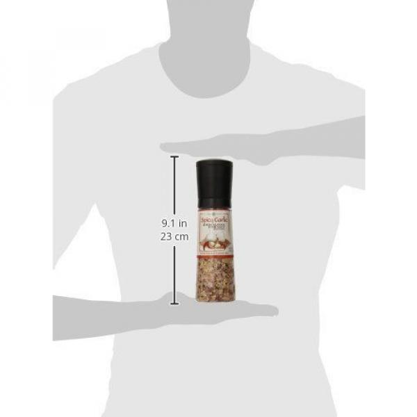Dean Jacobs Jumbo Grinder Spicy Garlic Himalayan Pink Salt Seasoning 12 Ounce #5 image