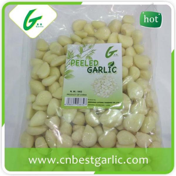 Price of fresh peeled garlic cloves #1 image