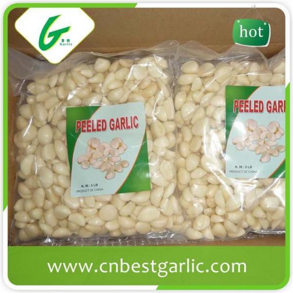 Price of fresh peeled garlic cloves #2 image