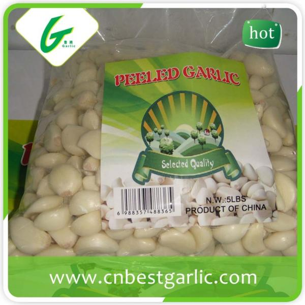 Price of fresh peeled garlic cloves #3 image