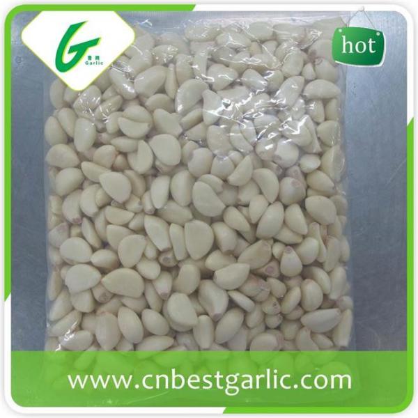 Price of fresh peeled garlic cloves #4 image