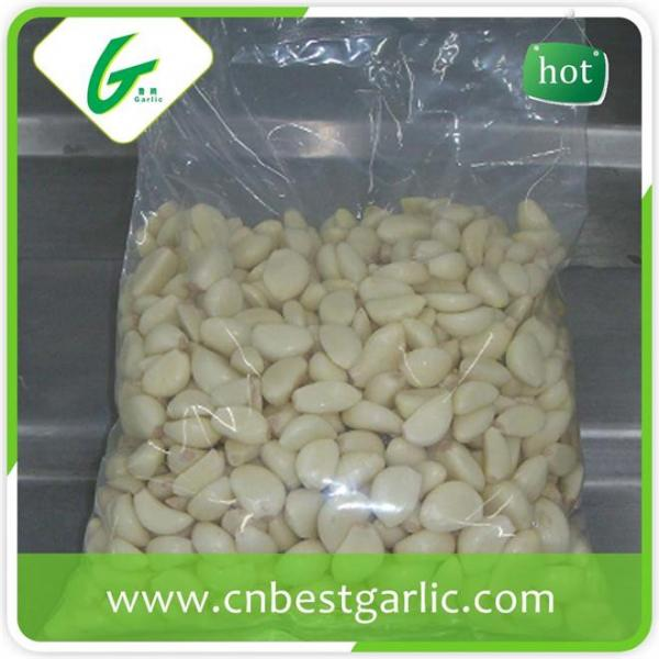 Price of fresh peeled garlic cloves #5 image