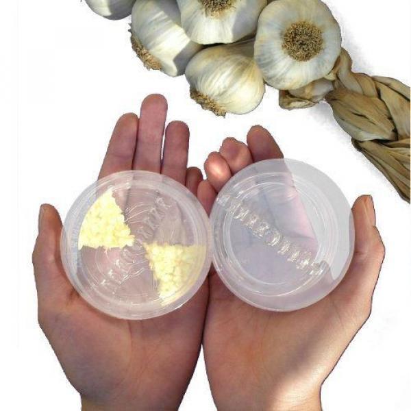 NexTrend Garlic Twist GTA Garlic Press Twist Cut Crush Purple, Green, Clear New #3 image