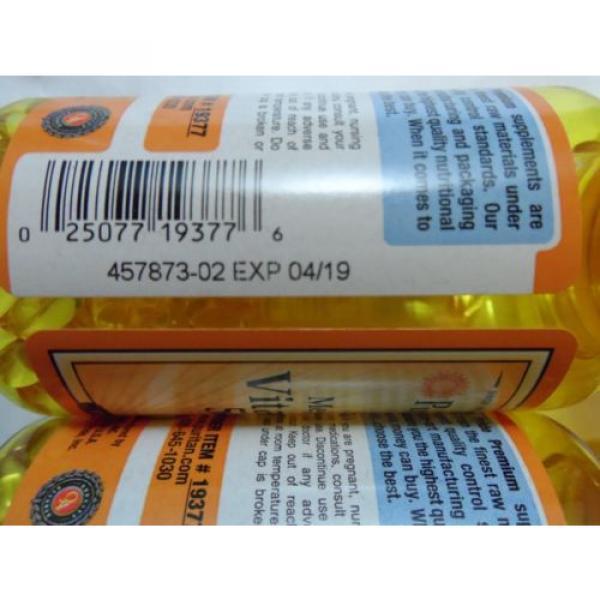 Odorless Garlic and Parsley - Vitamin D3 5000 mg 100 X 2=200 Pills Cholesterol #3 image