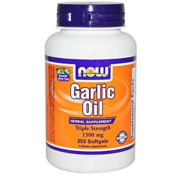 Now Foods, Garlic Oil, 1500 mg, 250 Softgels, #1 image