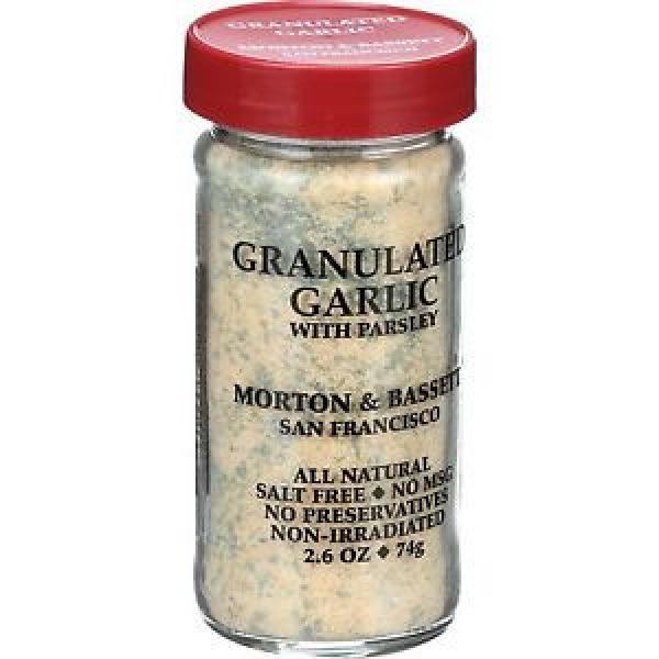 Morton and Bassett Seasoning Garlic with Parsley Granulated 2.6 oz - 3 Pk #1 image