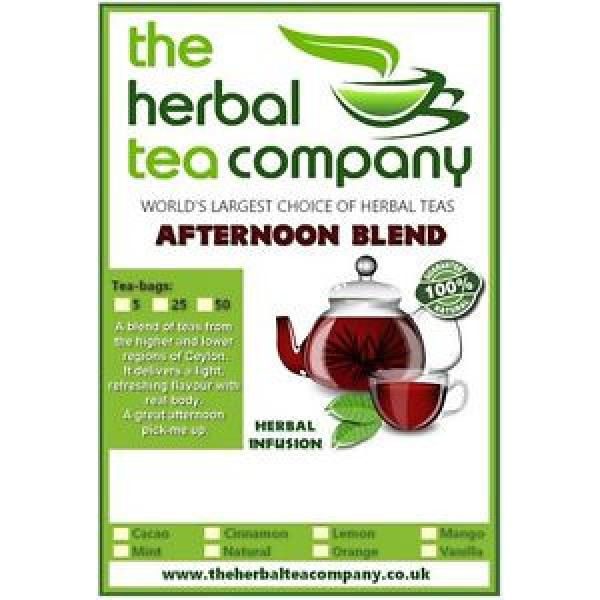 Black garlic Afternoon Blend Tea Bags 25 Pack With A Hint Of Orange #1 image