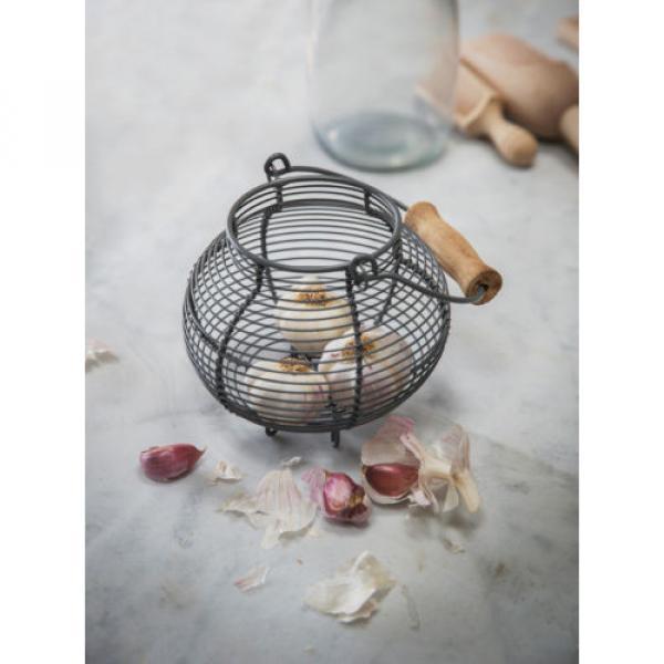 Garden Trading Garlic Korb - Dunkelgrau #2 image