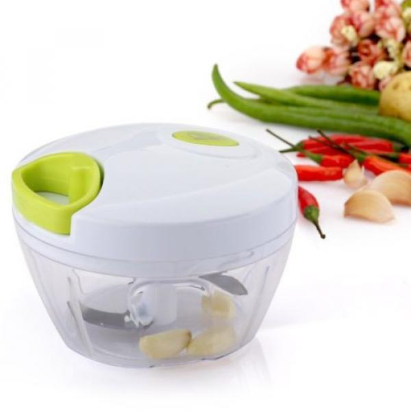 Uten® Kitchen Mini Chopper Food Pull Processor - for Vegetable, Fruit, Garlic #1 image