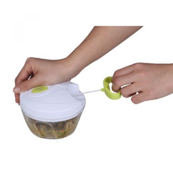 Uten® Kitchen Mini Chopper Food Pull Processor - for Vegetable, Fruit, Garlic #4 image