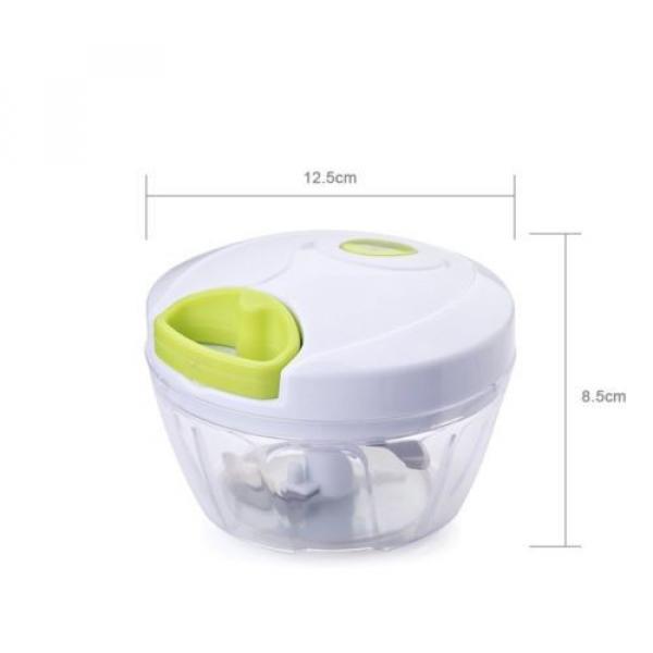 Uten® Kitchen Mini Chopper Food Pull Processor - for Vegetable, Fruit, Garlic #5 image
