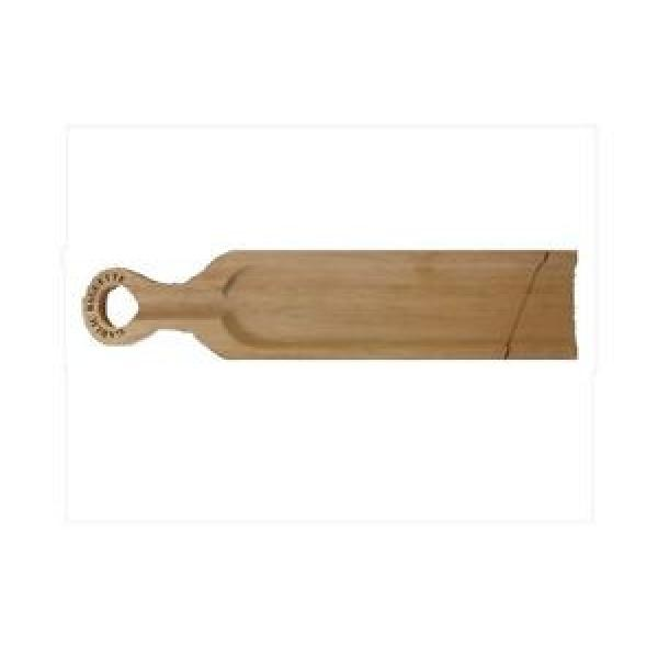 X10 SOLID HARD WOOD GARLIC BAGUETTE BREAD SALAMI WOODEN BOARD WITH GROOVE #1 image