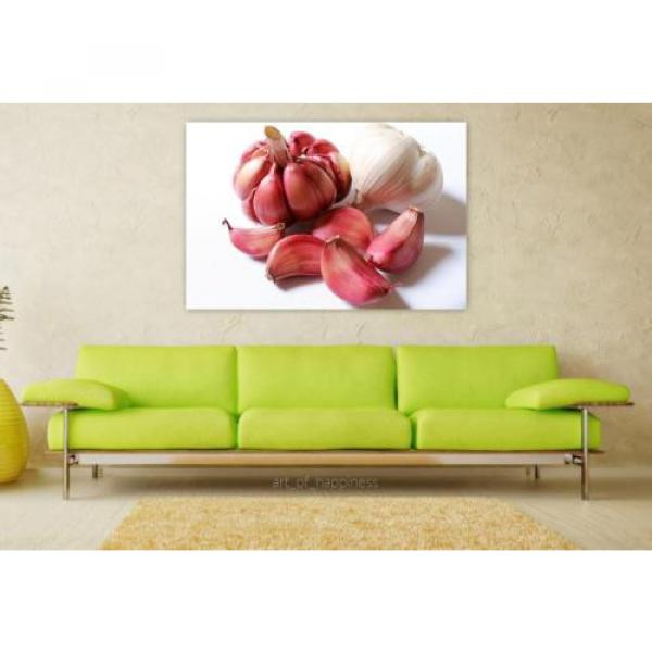 Stunning Poster Wall Art Decor Garlic Purple Garlic Head Of Garlic 36x24 Inches #1 image