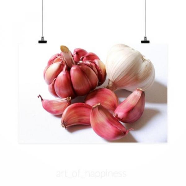 Stunning Poster Wall Art Decor Garlic Purple Garlic Head Of Garlic 36x24 Inches #2 image