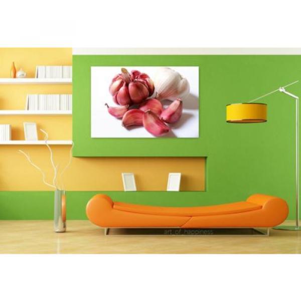 Stunning Poster Wall Art Decor Garlic Purple Garlic Head Of Garlic 36x24 Inches #4 image