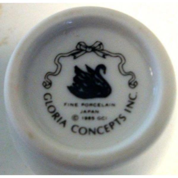 Gloria Concepts Fine Porcelain Spice Lidded Jar Garlic Japan #3 image