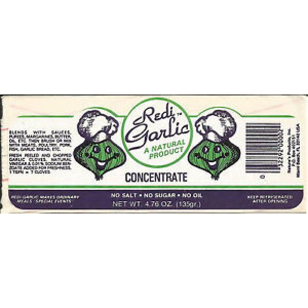 Sticker-REDI-GARLIC,Natures Products,Miami Beach,FL.original US=ProductsOverTime #1 image